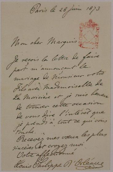 lettre de dote mariage